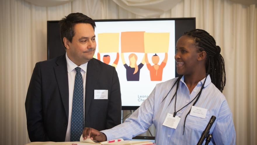 maria with stephen twigg mp house of commons