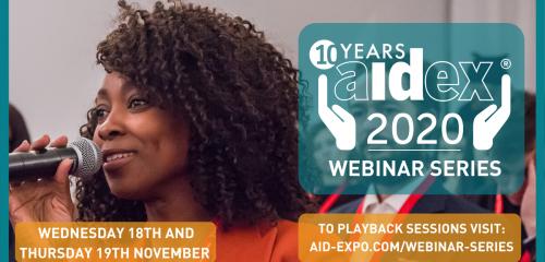 AidEx 2020 Webinar Series Overview