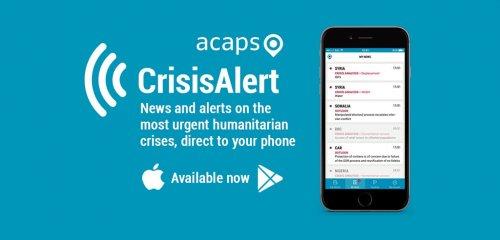 Humanitarian apps: ACAPS CrisisAlert