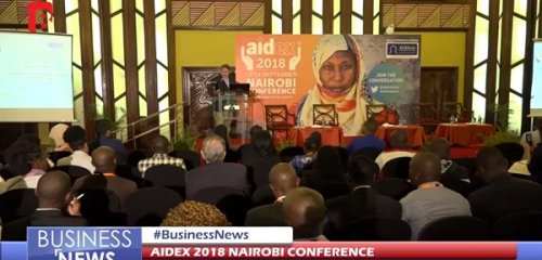 AidEx Nairobi 2018 features on primetime Kenyan TV
