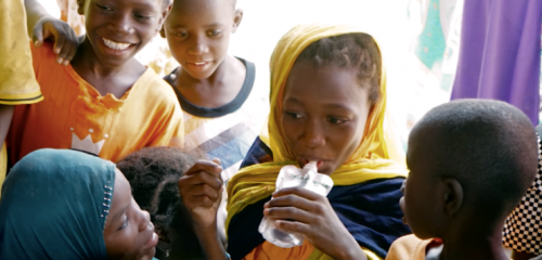 How a food supplement made from surplus fruit is helping malnourished children