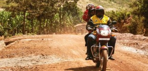 World Vision Ghana's Motorbikes Stay on Track with Globaltrack
