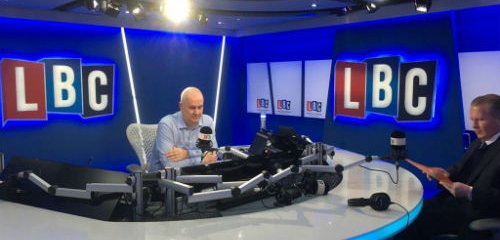 AidEx on LBC discussing Oxfam scandal