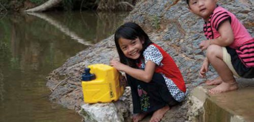 Accessing clean water to save lives – the Lifesaver cube