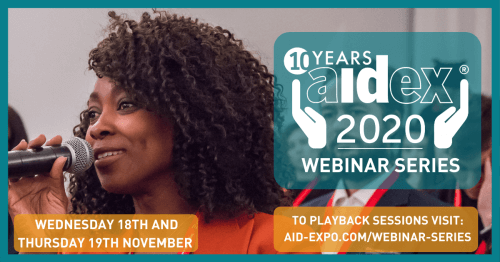 AidEx 2020 Webinar Series Overview