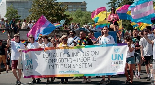 Progress of LGBT+ equality in aid and development sector is too slow, says UN GLOBE President